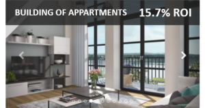 crowdlending example building of apartments