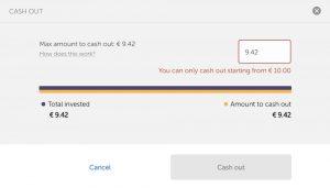 mintos invest access cashout