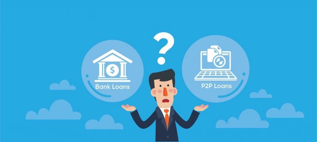 p2p lending loan vs bank loan