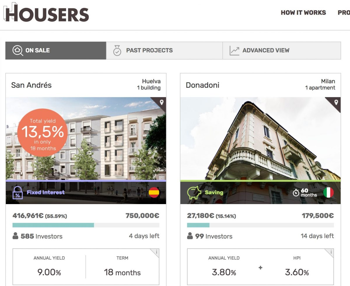 Housers real estate crowdfunding