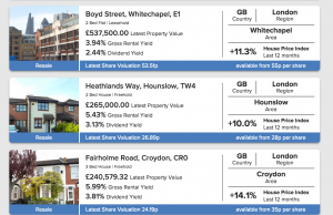 Property Partner real estate crowdfunding platform