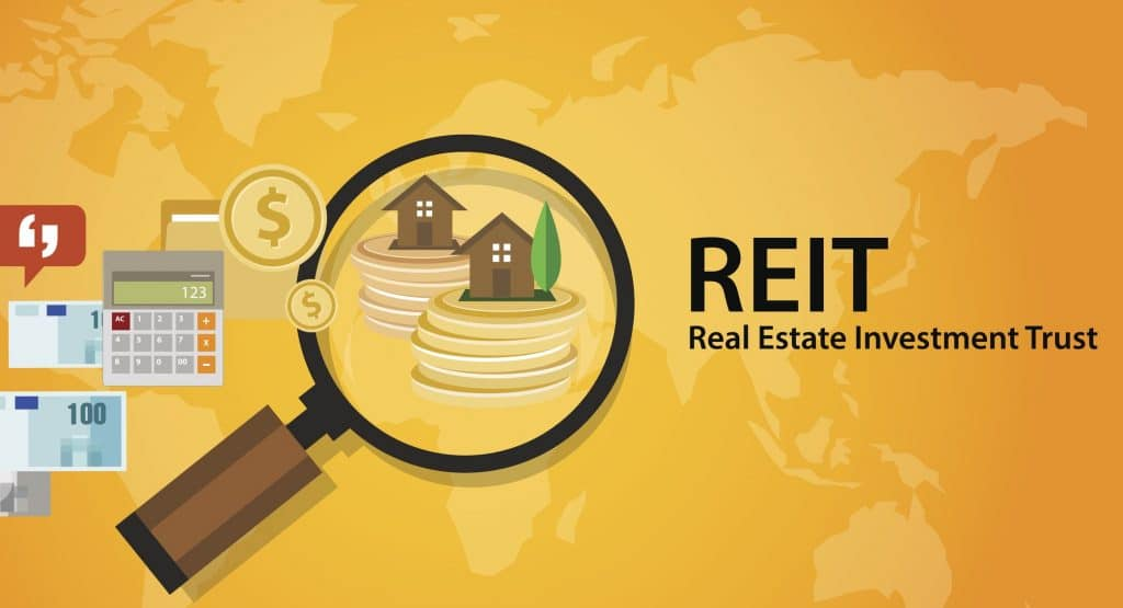 REIT Real Estate Investment Trust money for home finance trusts