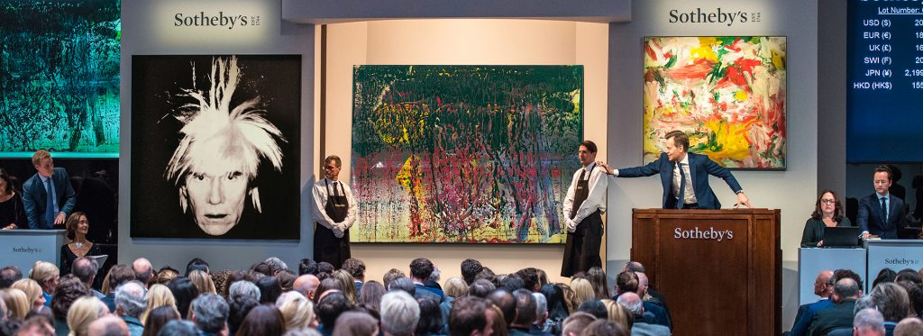 Sotheby art auction