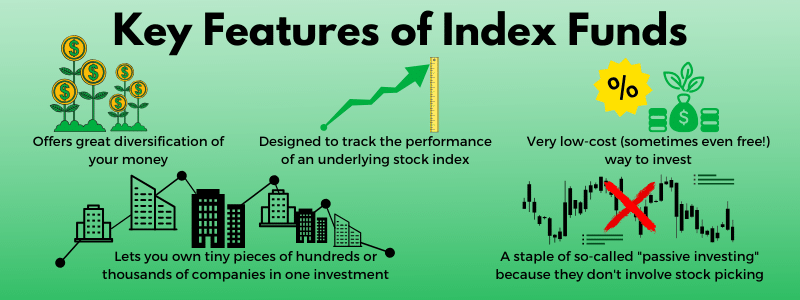 key features of index funds