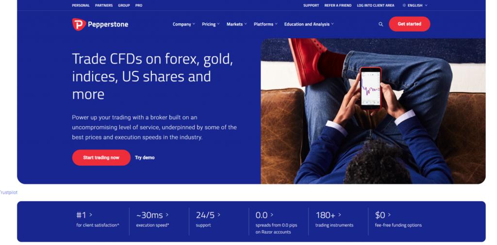pepperstone forex trading platform