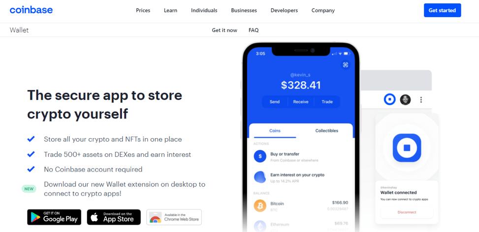 coinbase crypto storage wallet