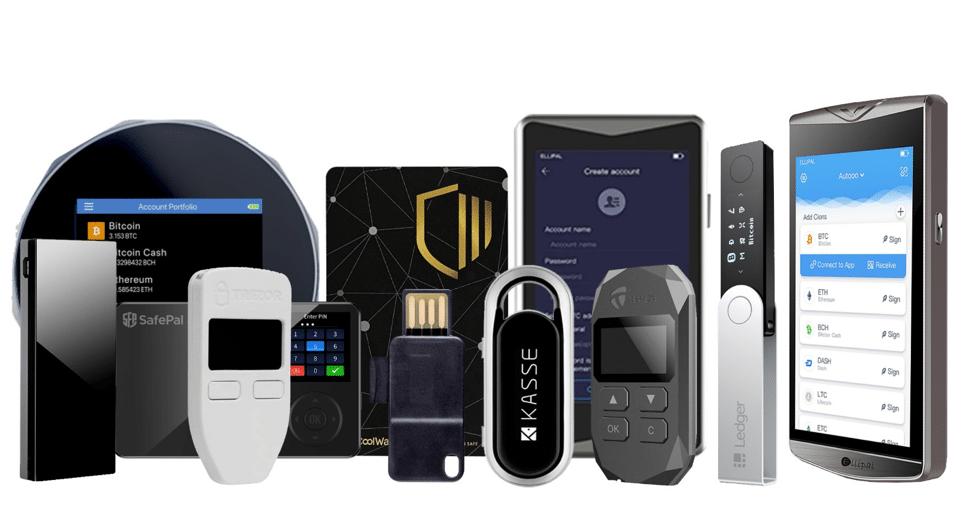 hardware wallet for crypto storage