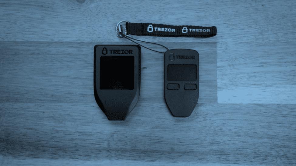 trezor wallet models